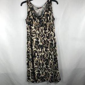 212 COLLECTION SIZE SMALL BROWN MINI DRESS